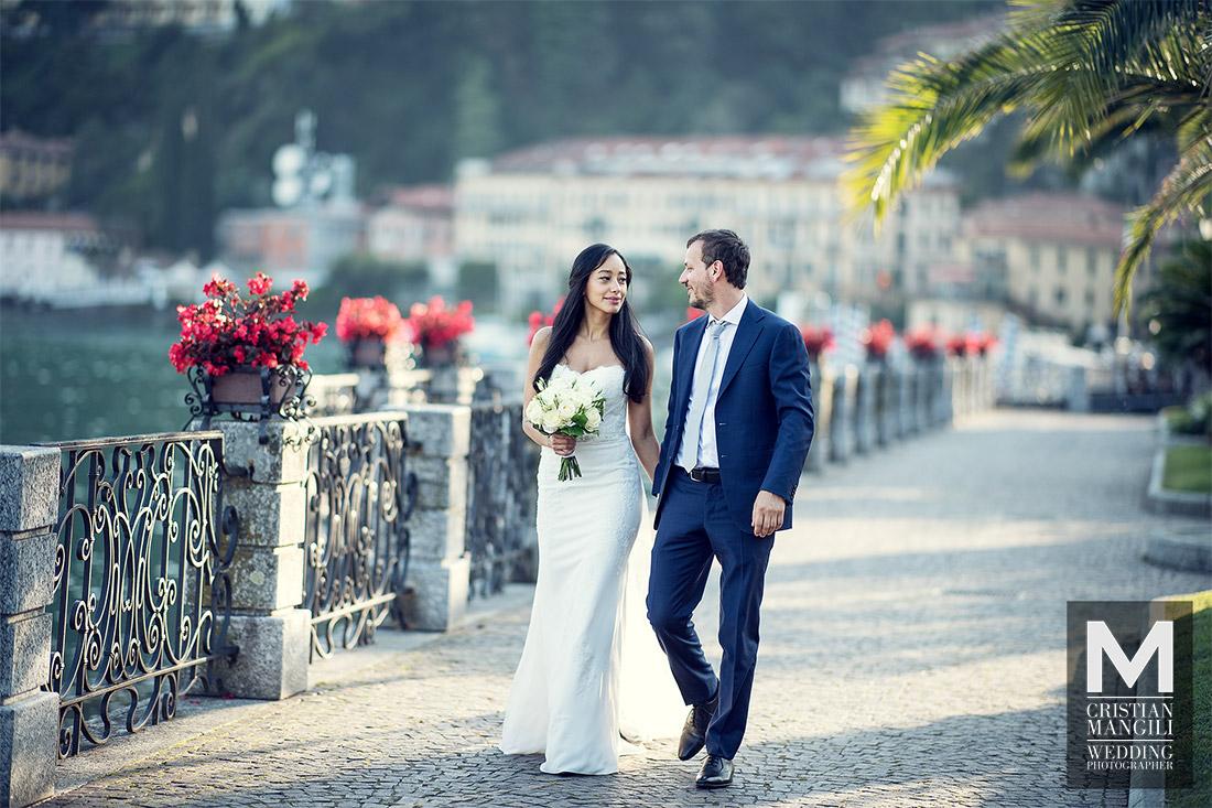 wedding-photographer-lake-como-italy-walking-on-the-lake