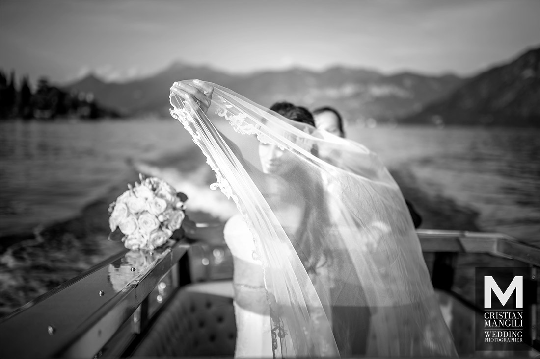 artistic-wedding-photography-lake-como-italy-bride-and-groom-on-boat